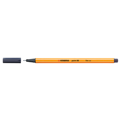 Stabilo Point 88 Pen, Paynes Grey