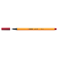 STABILO Point 88 Pen, Crimson