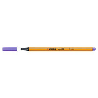 STABILO Point 88 Pen, Light Lilac