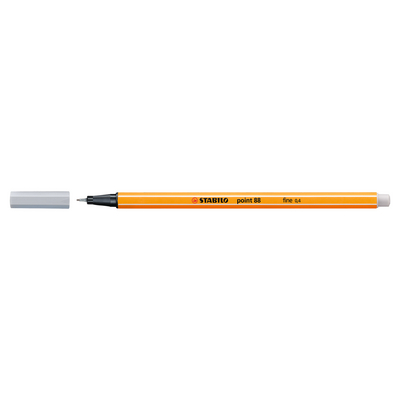 STABILO Point 88 Pen, Light Gray