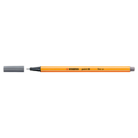STABILO Point 88 Pen, Dark Gray