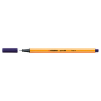 STABILO Point 88 Pen, Night Blue