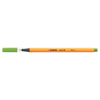 STABILO Point 88 Pen, Apple Green