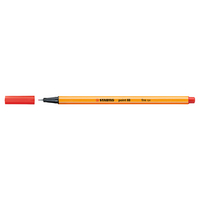 STABILO Point 88 Pen, Red