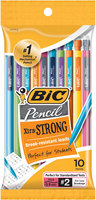 BICXtraStrong 0.9mm Mechanical Pencil Assorted Colors 10 Pack