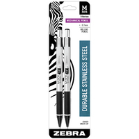 Zebra M301 Mechanical Pencil 0.7mm Black 2Pack