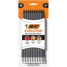 BIC Evolution Cased Pencil #2 HB Gray Barrel 18Pack