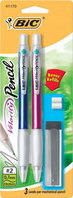 BIC Velocity Mechanical Pencil 0.7mm Medium 2Pack