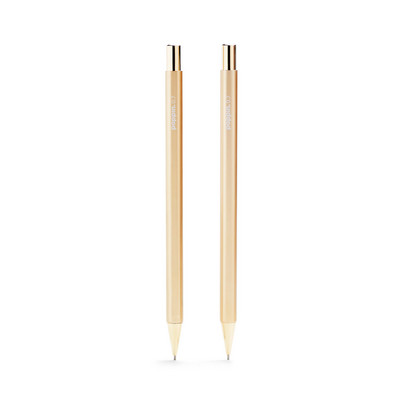 Poppin Gold Mechanical Pencils, Set of 2