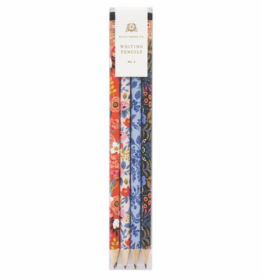 Rifle Paper Floral Writing Pencil Set