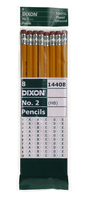 Dixon #2 WoodCased Yellow Pencils, 8Count