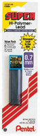 Pentel Super HiPolymer Lead, 0.7mm, HB, 30 Pieces