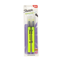 Sharpie Clear View Stick Highlighter Yellow 2Pack