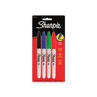 SHARPIE ASST COLORS 4PK