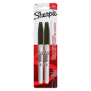 Sharpie Fine Point Permanent Markers Black 2Pack