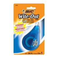 BIC WiteOut EZ Correct Correction Tape 1Pack