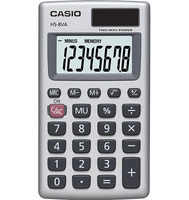 Casio HS8VA Handheld Calculator
