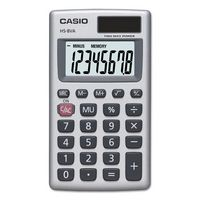 Casio HS8V Solar Powered Basic Calculator