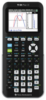 Texas Instruments TI84 Plus CE Graphing Calculator in Black