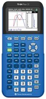Texas Instruments TI84 Plus CE Graphing Calculator in Blue