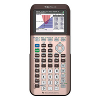 Texas Instruments TI84 Plus CE Rose Gold Graphing Calculator