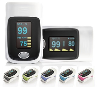 Pulse Oximeter, Pink