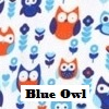 Rolling Carry All Tote, Blue Owl