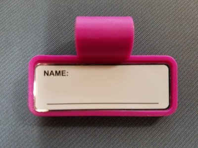 ID Tag Color, Pink