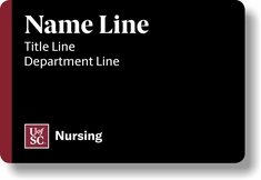 Nursing Student Name Tag  Magnetic
