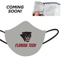 3 Ply Soft, comfortable  school spirit face mask.  Comes with a replaceable filter.