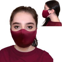 6 Pk Protective Face Mask, 3 Ply,soft,breathable, washable and reuseable.  More Colors Available