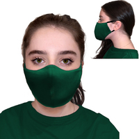 6 Pk Protective Face Mask, 3 Ply, soft and breathable.  Washable and Reuseable.