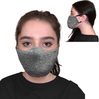 Coming Soon! 6 Pk Protective Face Mask, 3 Ply, soft and breathable.  Washable and Reuseable.