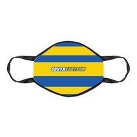 3 layer protective face mask Made of soft polyester fabric and is both comfortable & breatheable