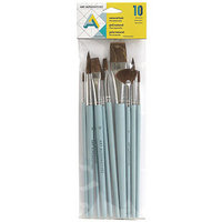 SYNTHETIC BRUSH SET (10PACK)