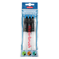 WATERBRUSH ASSORTED 3Pack