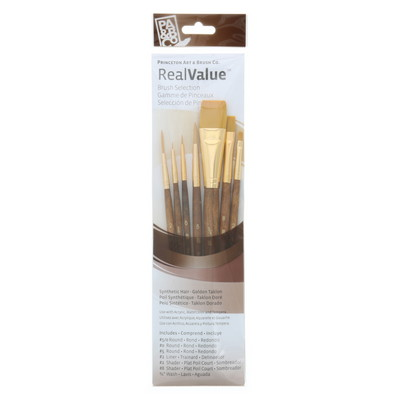 BRUSH GOLD TAKLON VALUE 7PK