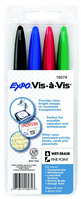 VisaVis Fine Marker 4 Color Set