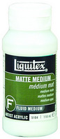 Liquitex Matte Fluid Medium 8 oz.