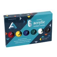 ACRYLIC PAINT SET 6X100ML