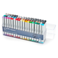 COPIC MRKR 72PC SET B
