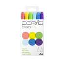 CIAO MRKR 6PC SET 1 BRIGHTS