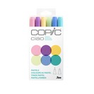 CIAO MRKR 6PC SET 3 PASTELS
