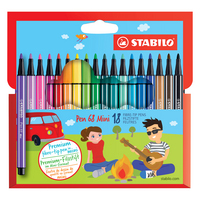 STABILO PEN 68 MINI SET OF 18