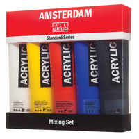 Amsterdam Standard Series Acrylic Paint Sets, 5Color Mixing Set  120ml