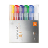 ACRYLIC MRKR FINE SET OF 12 A