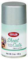Krylon Short Cuts Spray Paint Flat Black