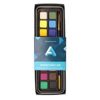 ART TIN WATERCOLOR SET