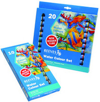 Reeves Water Colour Sets 20Color 22ml Tube Set