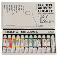 Gouache Artist 12 Set 5ml